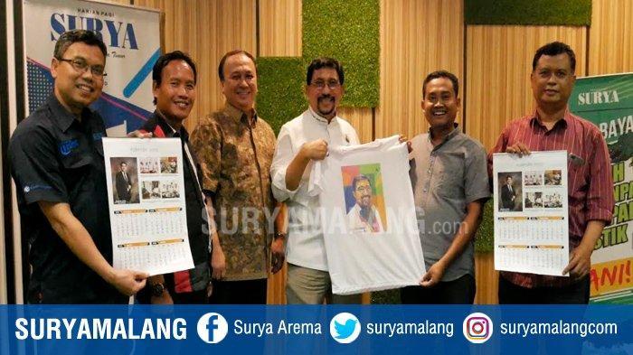 Bacawali Surabaya Machfud Arifin Ajak Tribun Jatim Network Awasi Penyelenggaraan Pilkada 2020
