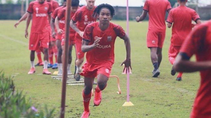 Cetak Gol ke Gawang Arema FC, Pemain Madura United Ronaldo Joybera Berpeluang Main di Piala Menpora