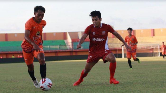 RD Sebut Progres Madura United Alami Peningkatan Seusai Latihan Bareng Latihan dengan Malang United