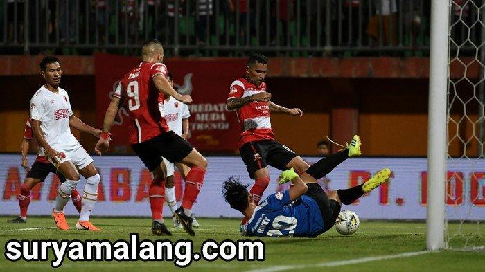 Hasil Skor Madura United Vs PSM Makassar  2-1, Menang Tapi Gagal Losos ke Final Piala Indonesia 2018