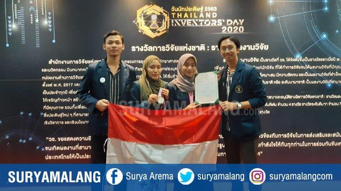 Aplikasi Food Safety Mahasiswa Universitas Brawijaya Raih Medali Perak di Bangkok Thailand