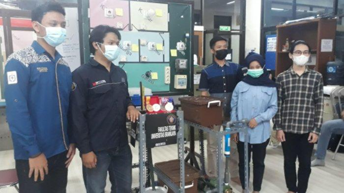 Mahasiswa UB Buat Rotation untuk Ubah Limbah Cair Panas Pabrik Gula Jadi Listrik dan Air Bersih