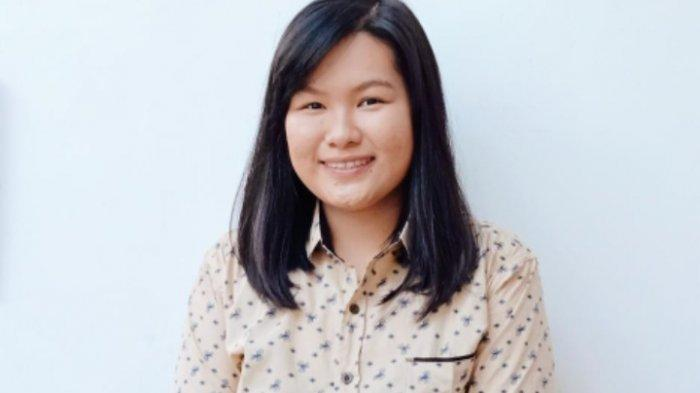 Mahasiswi ITS Surabaya, Eunike Rhiza Febriana Setyadi Gagas Filter Masker Kain dari Limbah Siwalan