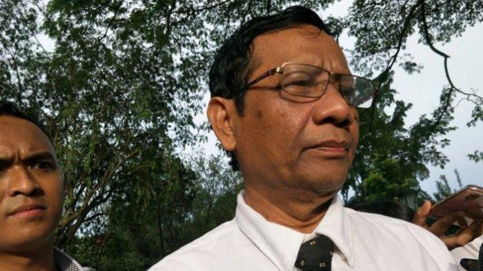 Bantahan Mahfud MD Soal Tuduhan Memberi Restu kepada Moeldoko untuk Kudeta AHY dari Partai Demokrat