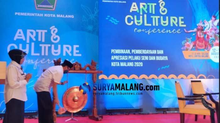 Kuatkan Identitas Budaya Kota Malang, Dindikbud Berikan Pembinaan kepada Seniman