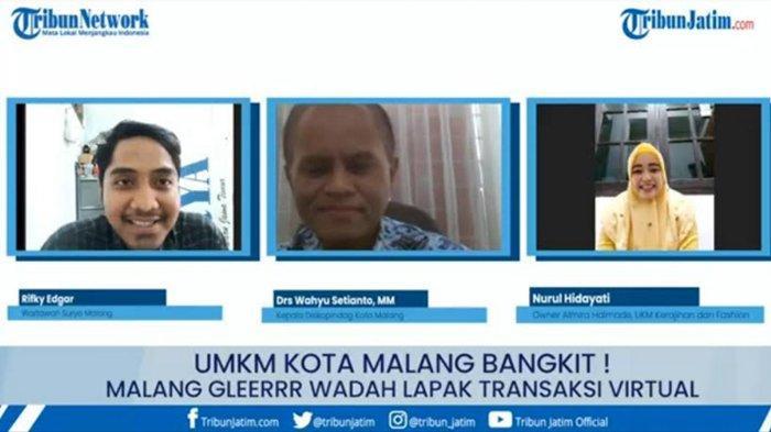 Website Marketplace Malanggleerrr Diharapkan Jadi Wadah Baru Gairahkan Kembali UMKM di Kota Malang