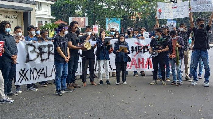 Ini Empat Tuntutan Solidaritas Malang Melawan Atas Pelemahan Di KPK