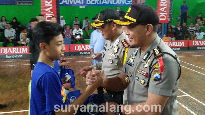 Kejurkot Bhayangkara Malang Open 2018 Jadi Wadah Pencarian Bibit Pebulutangkis
