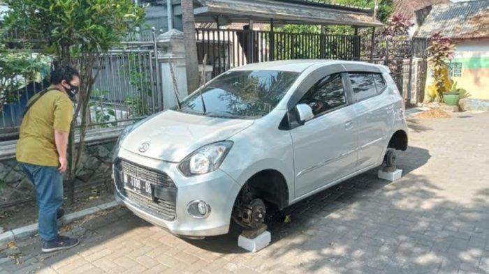 Satreskrim Polresta Malang Kota Lakukan Penyelidikan Kasus Pencurian Ban Mobil