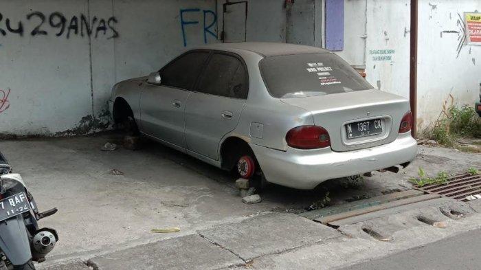 Maling Ban Mobil Kota Malang Beraksi Lagi, Ada Petunjuk Kendaraan Pelaku Dilihat Warga Purwantoro