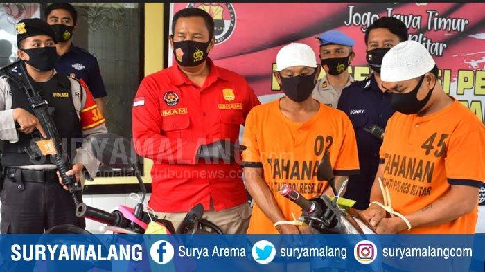 Dua Residivis Maling Motor Masuk Penjara Lagi Gara-Gara Jual Motor Curian Lewat Facebook