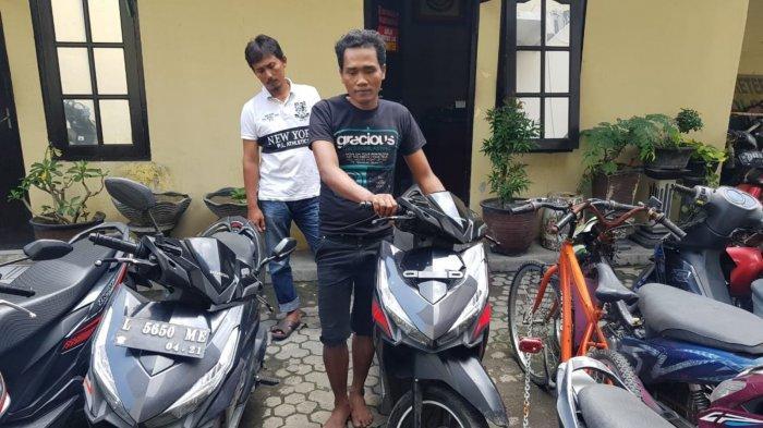 Taktik Muis Memberi Durian Lantas Sikat Motor Pedagang Kopi di Surabaya