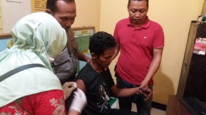 Penderita Gangguan Jiwa Tepergok Gondol Motor di Desa Latsari Kecamatan Bancar, Tuban