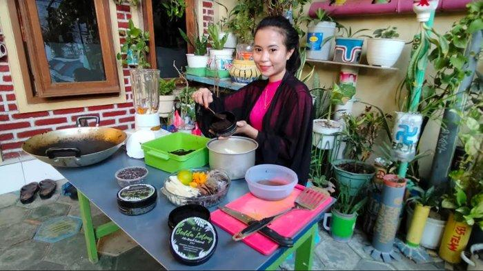 Mama Muda di Surabaya Ini Produksi Lulur Bedda Lotong Bugis, Makin Produktif Saat  Pandemi Covid-19