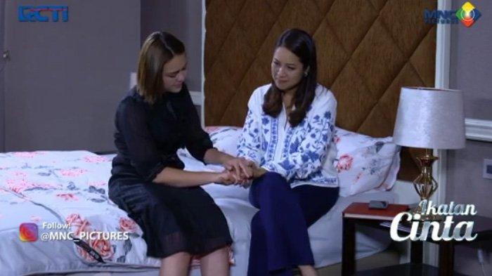 Mama Rosa dan Andin dalam adegan sinetron Ikatan Cinta malam ini Selasa 14 September 2021