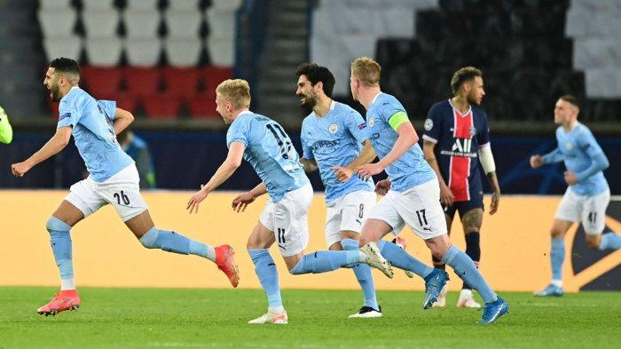 Manchester City Menang Atas Paris Saint-Germain, Skor ...