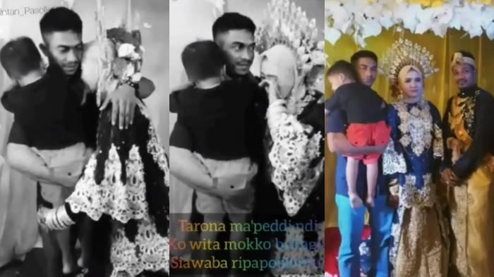 Tangis Mantan Istri Peluk Mantan Suami di Pelaminan Bikin Heran: Kalau Masih Sayang Kenapa Pisah?