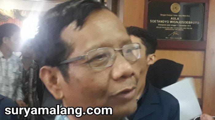 Tanggapan Mahfud MD soal Pembakaran Bendera di Garut, Jawa Barat