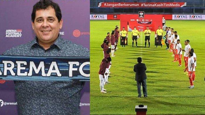 Berita Arema Populer Selasa 13 April 2021: Angan-angan Pengganti Carlos Oliveira & Nasib Liga 1 2021
