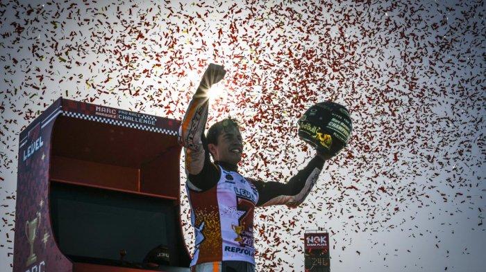 MotoGP Jepang 2018 - Marc Marquez Juara ! Ini Strategi dan Caranya Merayakan Kemenangan