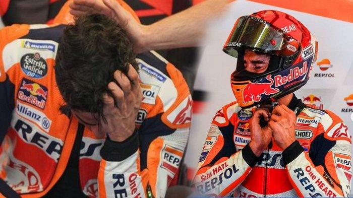 Kondisi Terkini Lengan Kanan Marc Marquez Setelah Jalani Comeback di MotoGP 2021, Menangis di Garasi