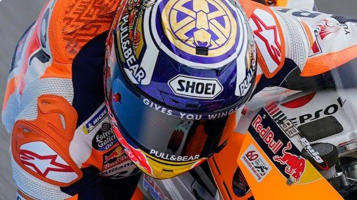 Posisi Start MotoGP Jepang 2019, Juara Dunia Marc Marquez Pole Position, Valentino Rossi Posisi 10