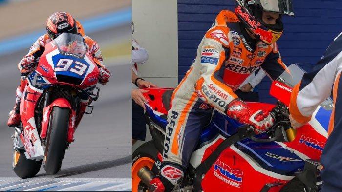 Marc Marquez Ganti Motor, Gunakan Motor Merah, Ternyata Ada Kepuasan di Uji Coba Sirkuit Jerez