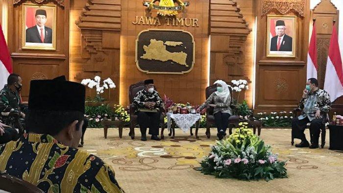2 Hari Pasca OTT Novi Rahman Hidayat, Wakil Bupati Marhaen Djumadi Resmi Jabat Plt Bupati Nganjuk