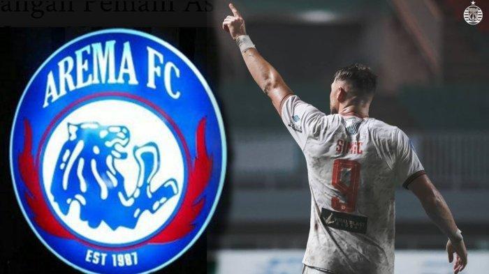 Awas, Arema FC Bisa Jadi Korban Pertama Ketajaman Striker Persija Marko Simic di Seri 2 Liga 1 2021