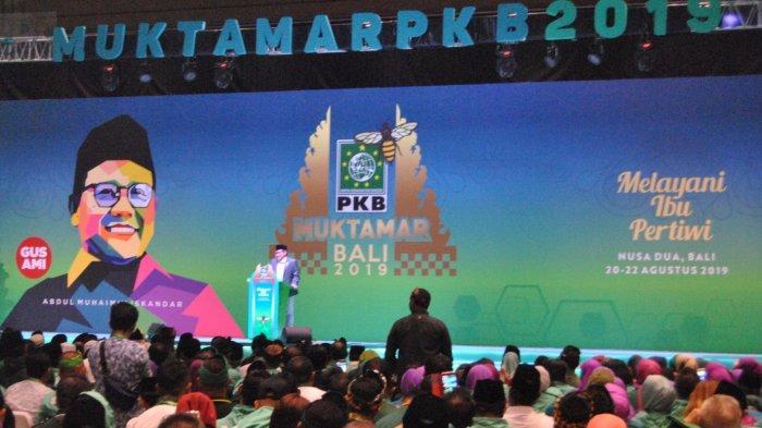 Ma'ruf Amin Tutup Muktamar PKB di Bali, Doakan PKB Naik Terus sampai Sidratul Muntaha