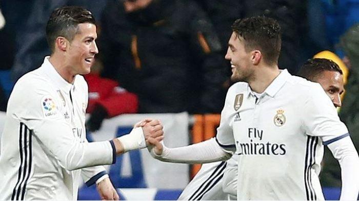 Cristiano Ronaldo dan Mateo Kovacic