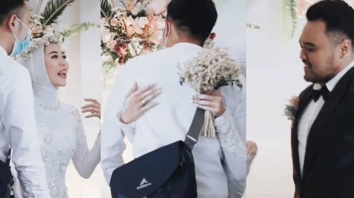Viral Mayangsari Izin Suami Peluk Mantan Pacar saat Pernikahan, Reaksi Pengantin Pria Jadi Sorotan