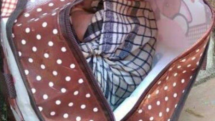 Fakta Baru Penemuan Mayat Bayi Terbungkus Tas di Kota Malang, Mulut Bayi Tersumpal Kain