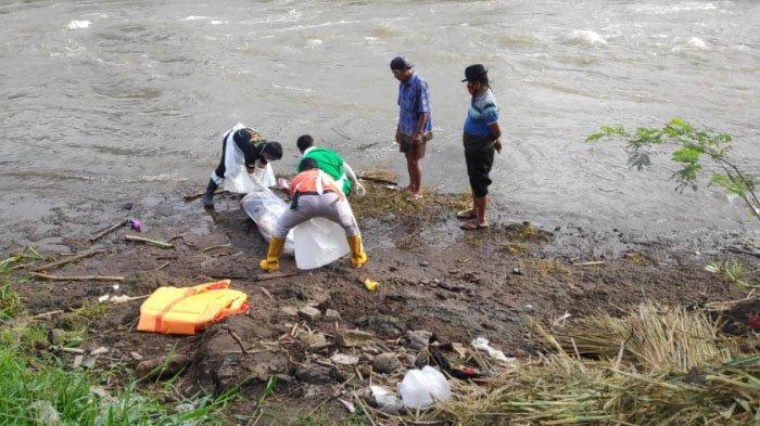Mayat Pria Tanpa Celana Mengapung di Sungai Brantas Tulungagung, Diduga Korban Bunuh Diri di Blitar