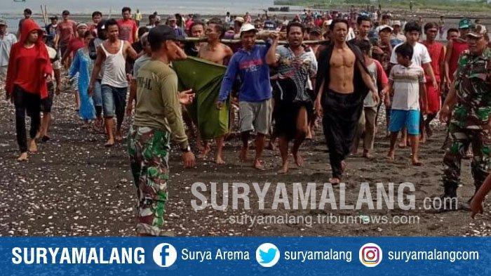 Pria Tanpa Identitas Tewas Mengambang di Muara Sungai Desa Kilensari, Situbondo