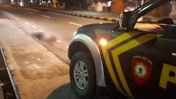 Pria Asal Makassar Tewas di Depan SPBU Gemekan, Mojokerto, Ada Luka di Kepala