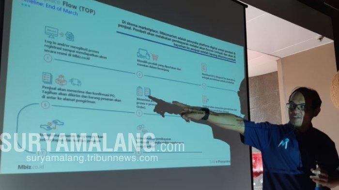 Dorong IKM Di Surabaya Naik Kelas, Mbiz Konsisten Edukasi Pemanfaatan Teknologi Informasi