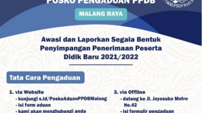 MCW Buka Posko PPDB Malang Raya