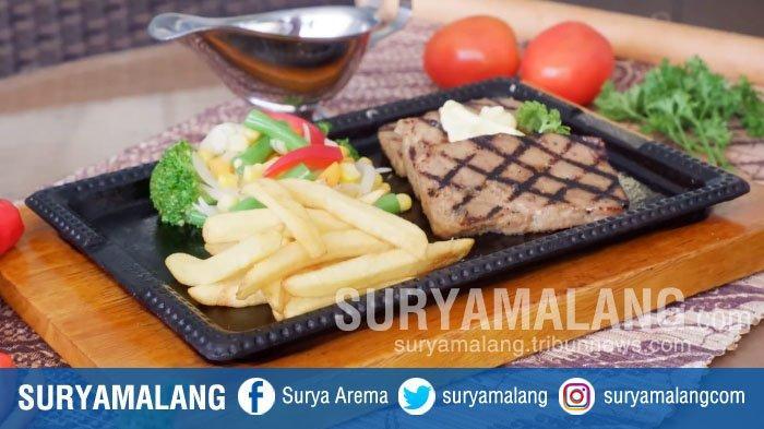 Cara Membuat Meatloaf Steak Empuk Ala Swiss-Belinn Manyar Surabaya