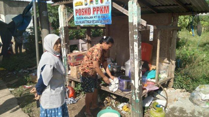 Sambut Ramadan 2021, Warga Terdampak Gempa Bumi di Dampit Malang Gelar Tradisi Megengan
