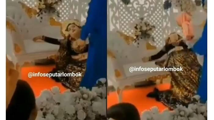 Update Video Viral Pengantin Wanita Nangis Saat Didatangi Mantan, Belum Pernah Disentuh Suaminya