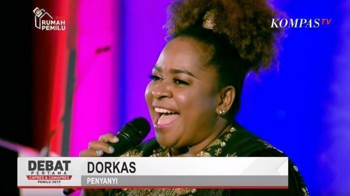 Profil Dorkas, Sosok Bersuara Emas Dalam Debat Pilpres 2019 Putaran Pertama