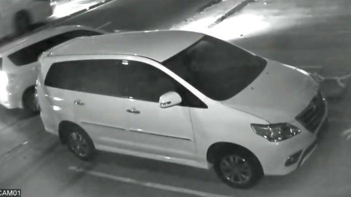 Rekaman CCTV saat mobil Syekh Ali Jaber dicuri tahun 2016 silam