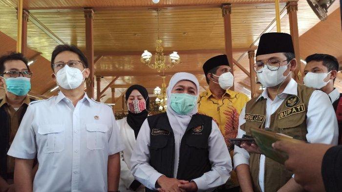 Menkes dan Kepala BNPB Tinjau Lonjakan Covid-19 Bangkalan, Bupati Sebut Tambahan 46 Nakes Positif