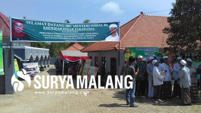 Menteri Khofifah Resmikan Panti Rehabilitasi Narkoba Terbesar di Kota Malang