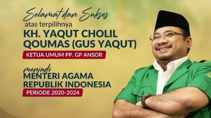 Perjalanan Yaqut Cholil Qoumas dari Ketua GP Ansor Hingga Jadi Menteri Agama, Bicara Soal Mimpi Liar