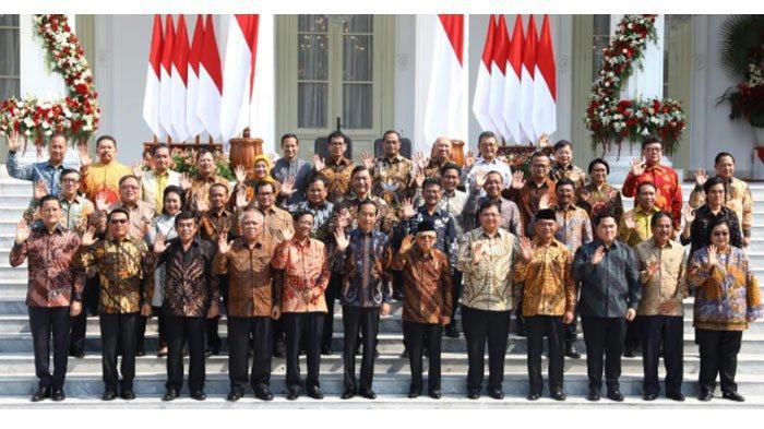Susunan Kabinet Indonesia Maju 2019-2024, Ada 38 Menteri Bantu Jokowi, Mendikbud: Nadiem Makarim