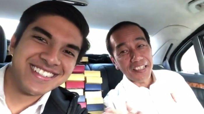 VIDEO : Ketika Presiden Panggil Menpora Malaysia, Syed Saddiq dengan Sebutan 'Bro'