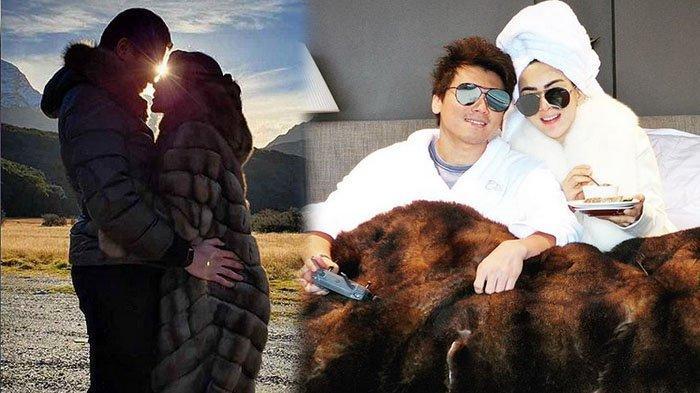 Mewahnya Bulan Madu Syahrini, Istri Reino Barrack Dandan Totalis Berbalut Jaket Ratusan Juta Rupiah
