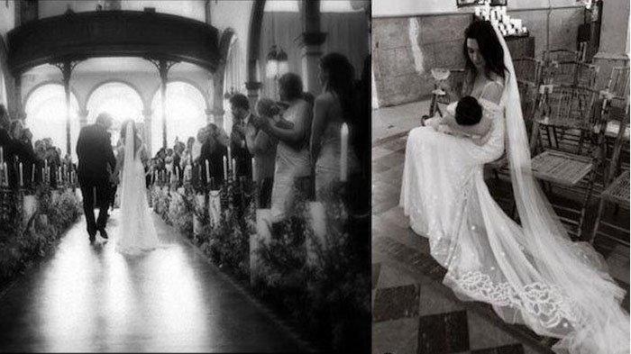 Foto Wanita Menikah Sambil Menyusui Bayinya Viral di IG, Ternyata Sosok Artis Terkenal